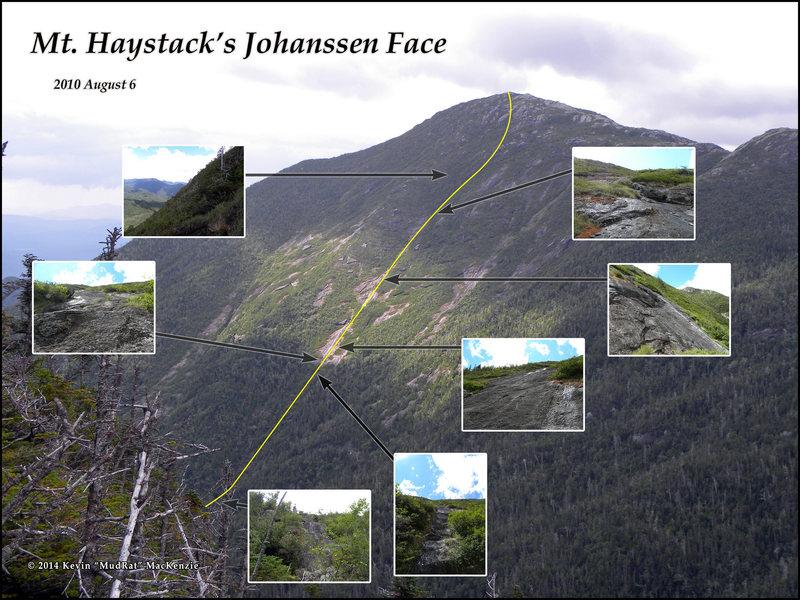 Haystack Mtn. (East) Johanssen Face.