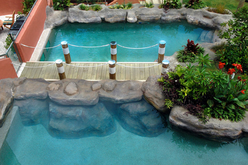 Creative Rock Australia's leading rock sculpting company has 20 years of experience in Artificial rock pool designs