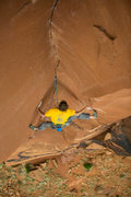 Rock Climbing Photo: The start of the stemming corner