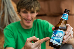 Rock Climbing Photo: Drink up