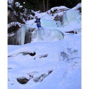 Rock Climbing Photo: Big Gully ice,  Vail, CO.