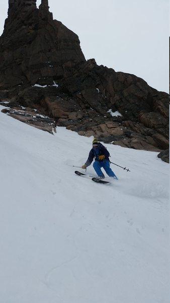 Dreamweaver ski descent
