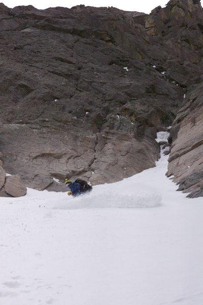 Rock Climbing Photo: Deep POW in Dreamweaver RMNP