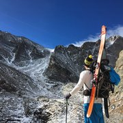 Rock Climbing Photo: Dreamweaver and Dark Star Mt. Meeker RMNP