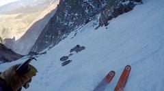 Rock Climbing Photo: Dark Star Mt. Meeker RMNP ski descent