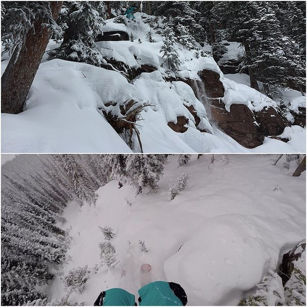 Rock Climbing Photo: East Vail pillow line