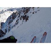 Rock Climbing Photo: Mt. Wilson winter ski descent