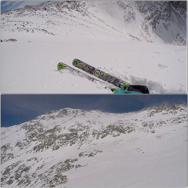Ellingwood Point winter ski descent