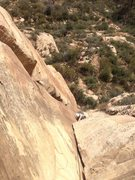 Rock Climbing Photo: Josh on P1