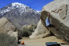 Rock Climbing Photo: Finally stuck the lip!