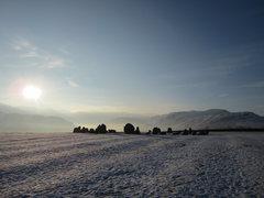 Rock Climbing Photo: The 2000BC stone circle winter morning 2015. Locat...
