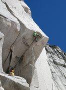 Rock Climbing Photo: Intimidating, pumpy, and so sick