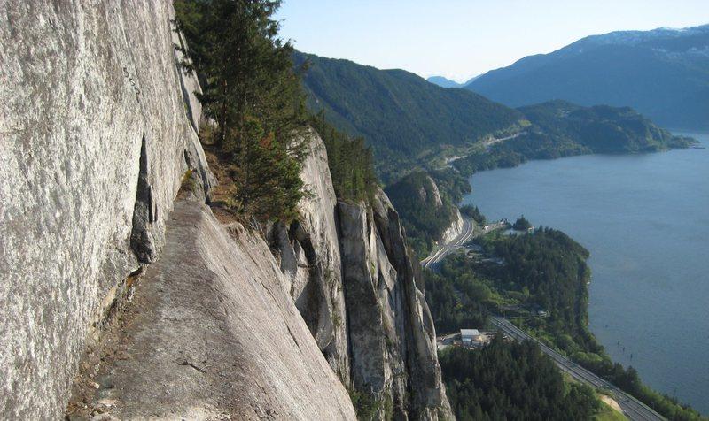 Rock Climbing Photo: Bellygood ledge