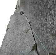Rock Climbing Photo: The Split Pillar