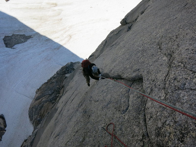 Following the third pitch