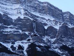 Rock Climbing Photo: Trophy Wall as of 1/21/15.