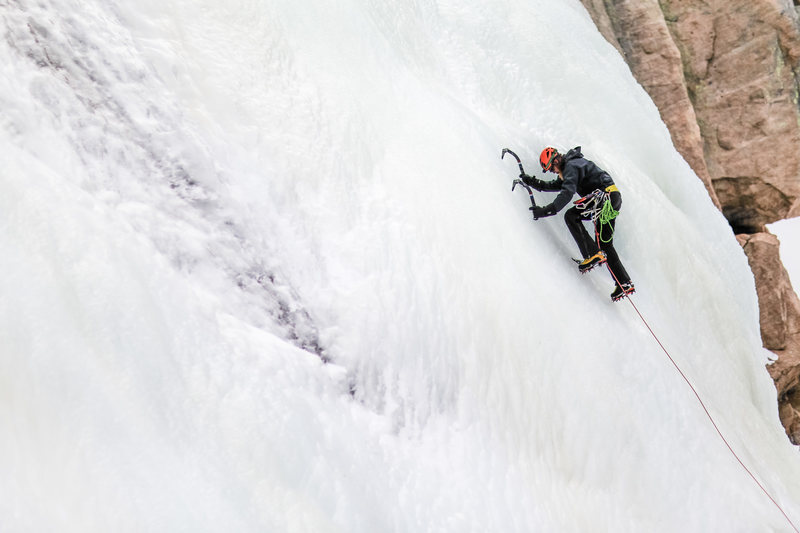 Rock Climbing Photo: The Black Lake Slabs, December 2014.  Photo by Jos...