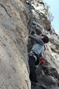 Rock Climbing Photo: Spearfish climbing