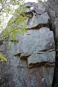 Rock Climbing Photo: The line for Stumped