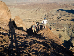 Rock Climbing Photo: Heading to the summit of Picacho Peak in Arizona.