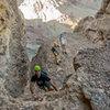 Picacho Peak scramble one at a time.