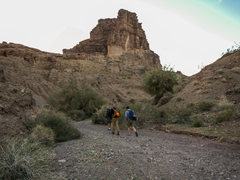Rock Climbing Photo: Early morning approach  to Picacho Peak