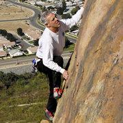 Rock Climbing Photo: Ralph Auletta on Mount Rubideaux