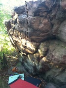 Rock Climbing Photo: Photo of route