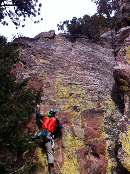 Rock Climbing Photo: Five Fang Overhang.