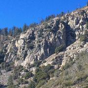 Rock Climbing Photo: DUCK!