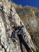 Rock Climbing Photo: Macke on pitch 2