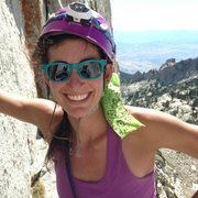 Rock Climbing Photo: Me on Lone Peak.