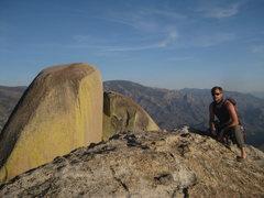 Rock Climbing Photo: Top of Romantic Warrior