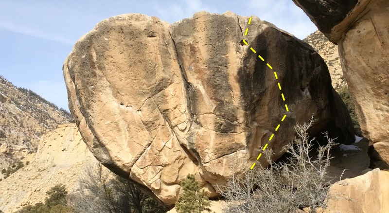 The nerve damage boulder