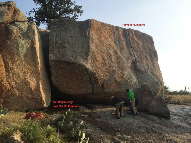 Lizardhead Boulders.