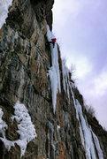 Rock Climbing Photo: Dave Rone on Martini. Jan 25, 2015.
