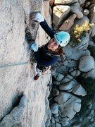 Rock Climbing Photo: Sail Away in Joshua Tree