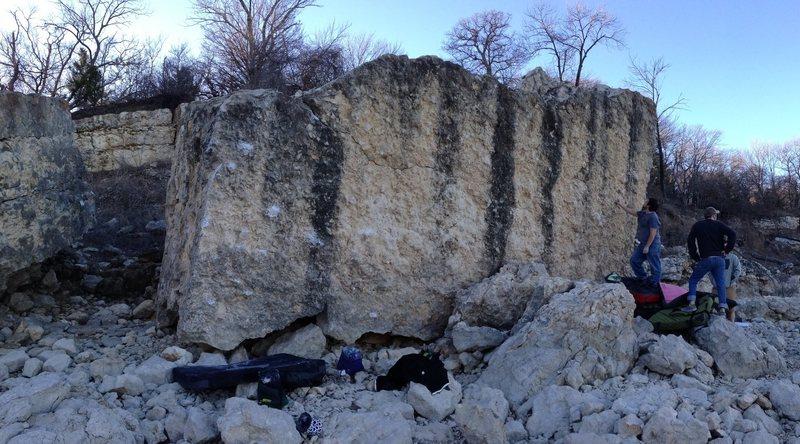 Rock Climbing Photo: CAB boulder