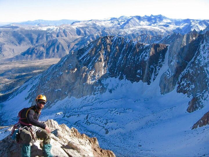 Mine and Jonathan's Winter ascent 2008!!! :)