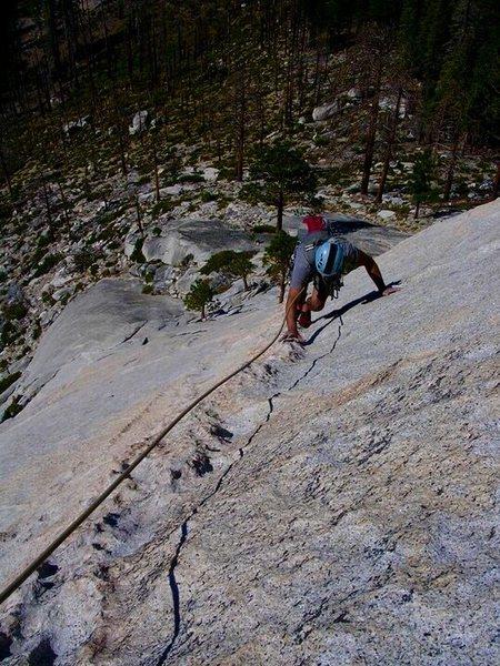 Rock Climbing Photo: Top of P2!!!