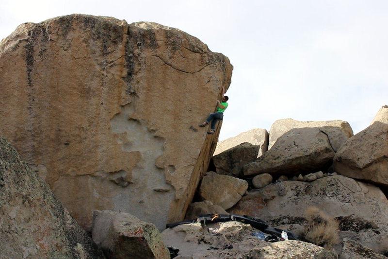 Rock Climbing Photo: The Ninth (V7)