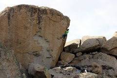 Rock Climbing Photo: The Ninth (V7)