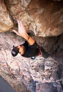 Rock Climbing Photo: Jason Litton pulling the roof low down on Single T...