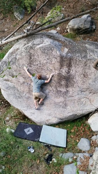 Rock Climbing Photo: step by step