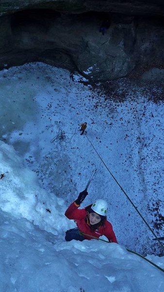 Rock Climbing Photo: Determination