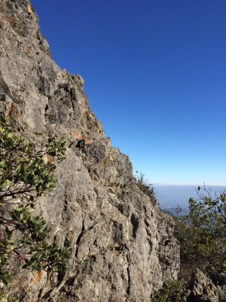 Rock Climbing Photo: View from Mt Tam, the Equinox, on the Northren For...