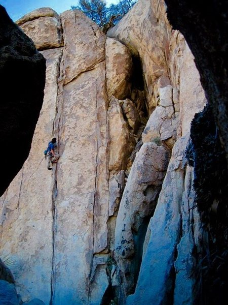 Rock Climbing Photo: Jonathan Reinig cruzing his OS of Tax Man!!!
