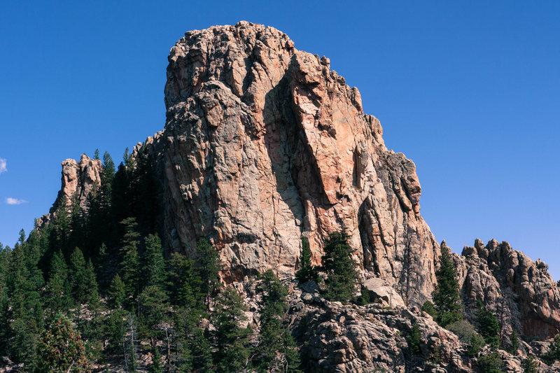 Rock Climbing Photo: GA Crag 1.