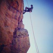 Rock Climbing Photo: Rap off the Third