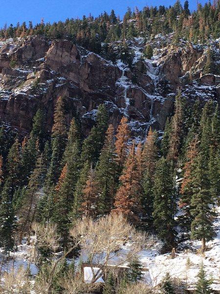 Rock of ages left side